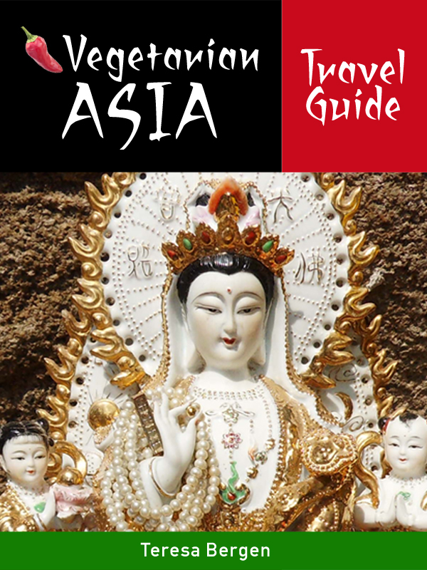 Vegetarian Asia Travel Guide is now available on Amazon