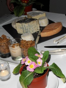 Panache cheese plate