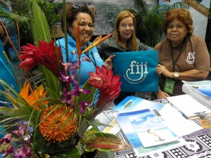 LA Times Travel show Fiji