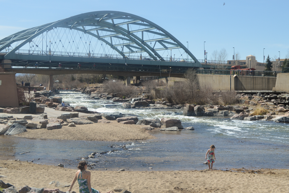 I was surprised to learn that Denver has a beach.