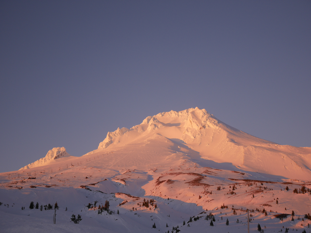 Mount Hood view from Timberline