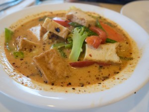 Long Beach Thai veg curry