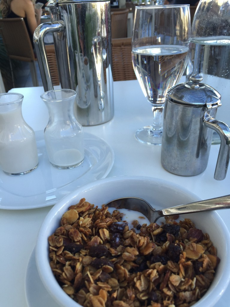 granola at JW Marriott Desert Springs
