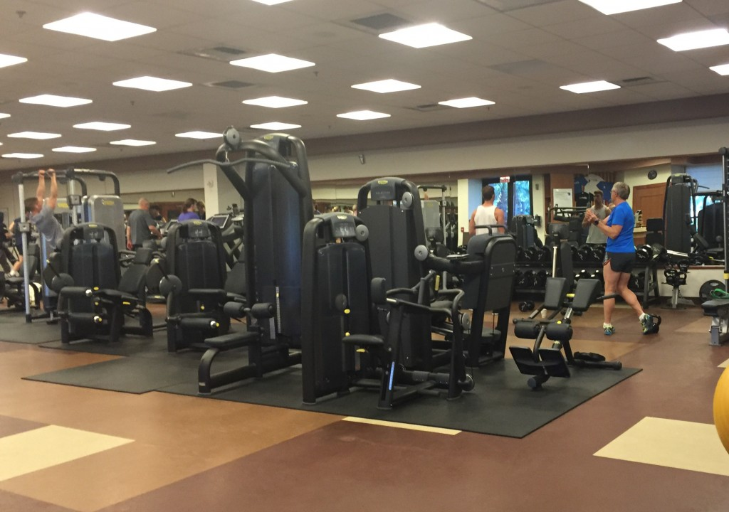 gym at JW Marriott Desert Springs