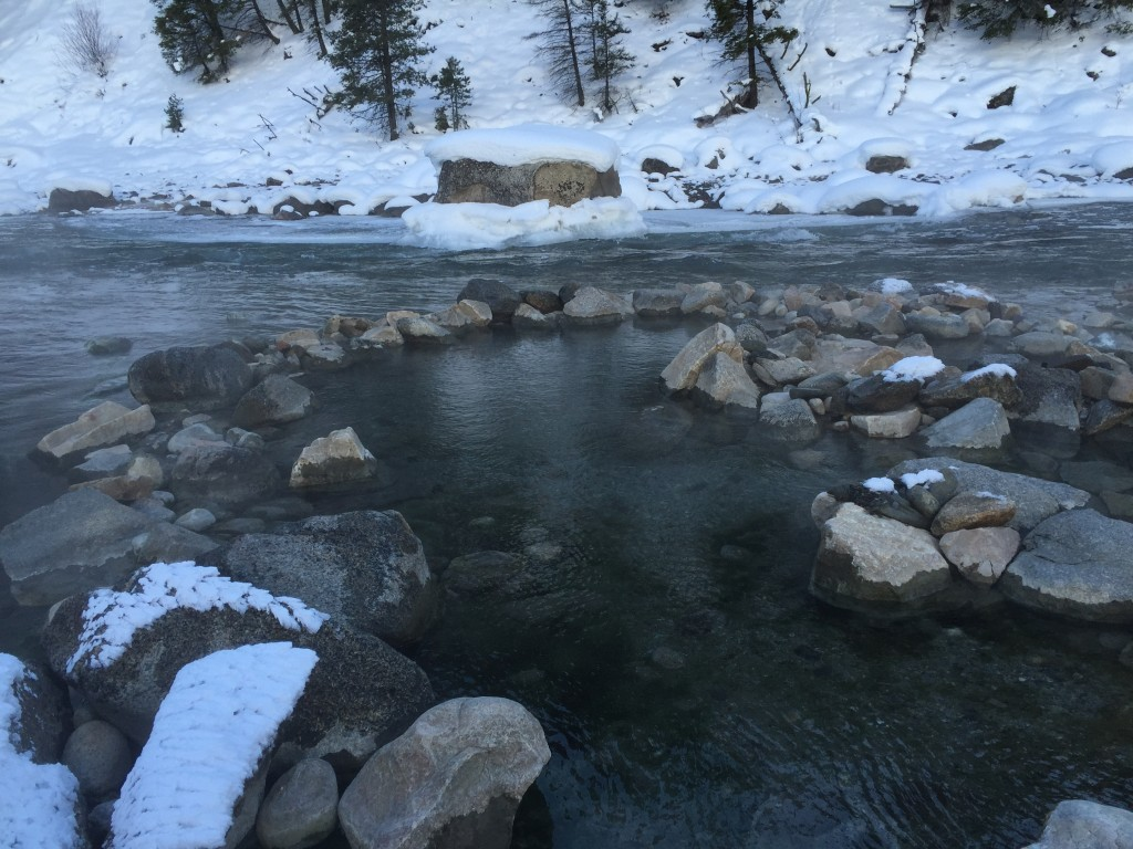 Sunbeam Hot Springs in Stanley Idaho