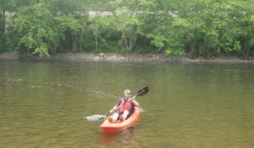James River kayaker
