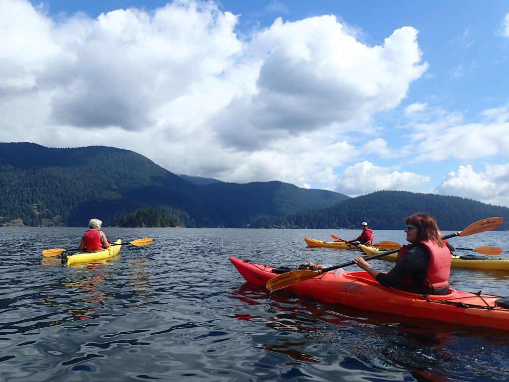 Deep Cove Kayak rentals