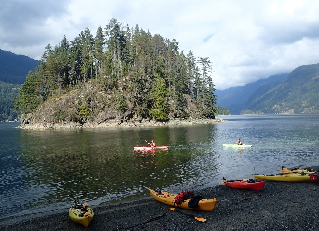 Kayaking Deep Cove in North Vancouver - Veg Travel and Fitness
