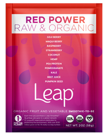 Leap Red Power smoothie power
