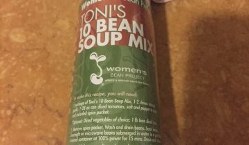 Women's Bean Project 10 bean soup