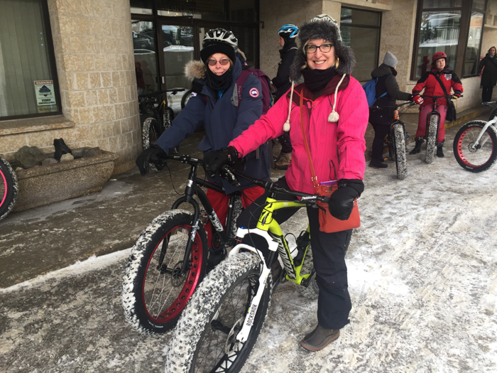 Winnipeg fat bikes