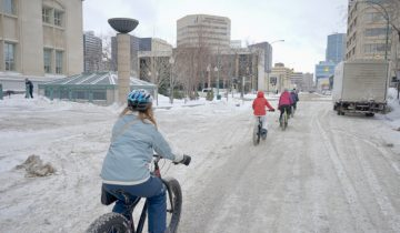 Winnipeg fat biking