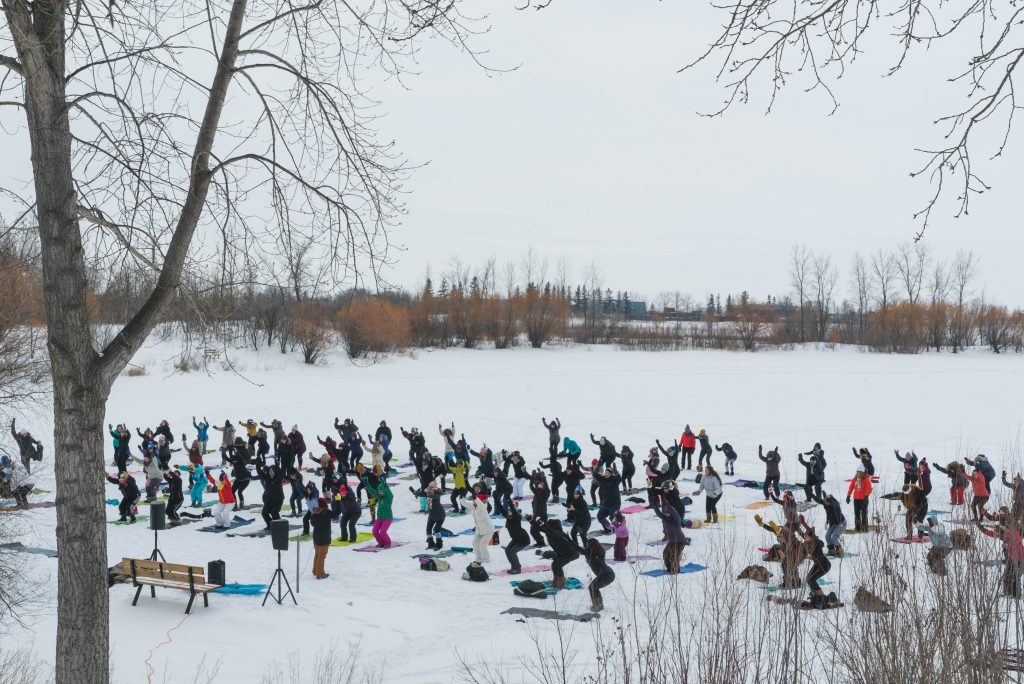 Fire and Ice Yoga Festival in Winnipeg