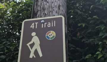 4T Trail sign Portland
