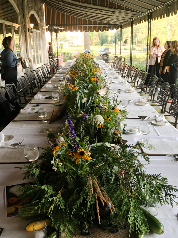 Osthoff farm dinner Elkhart Lake