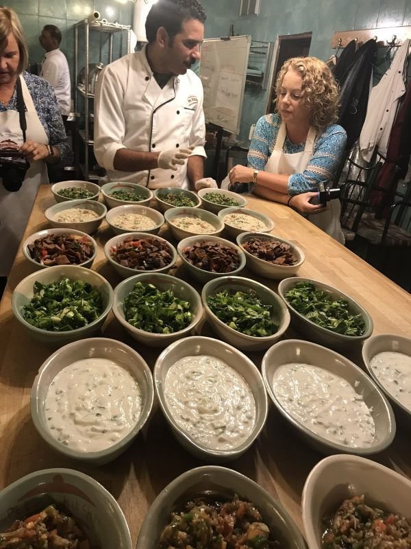 Petra Kitchen cooking class