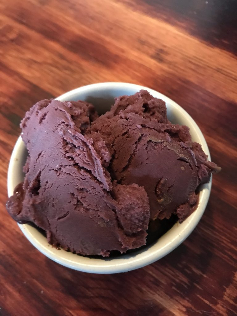 Snow Monkey vegan ice cream